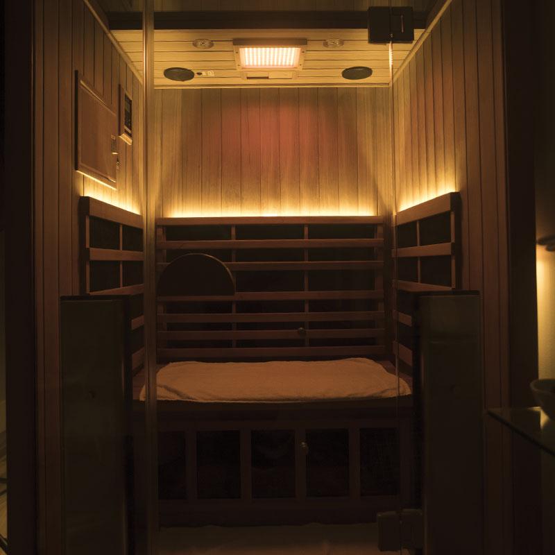 Infrared Sauna Opening